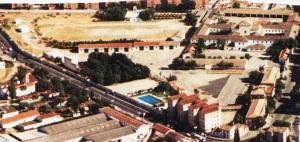 Vista Aérea del Antiguo Regimiento de Artillería de Ciudad Real